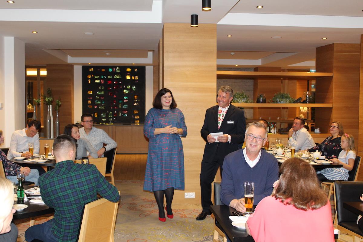 Ďakujeme Hotelu Lesná za pozvanie na Rusínsky gastro víkend, na ktorom sme odprezentovali našu knihu Mamina rusínska kuchyňa